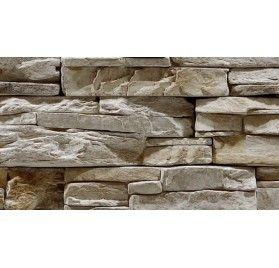 Stenvägg Vermont Orage - 0,5 m2