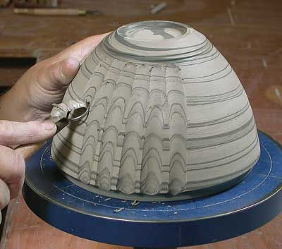Ceramic Arts Daily – You Say Neriage, I Say Nerikomi…No Matter What You Call it, Mixing Colored Clays Makes for Gorgeous Pottery Surfaces