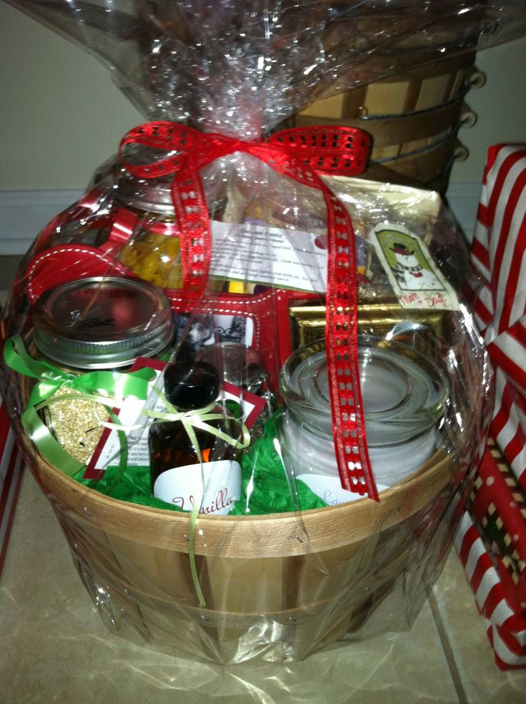 Delightful Homemade Christmas Gift Baskets Ideas Part - 10: Diy Amazing Christmas Gift Basket Ideas | Melicipes: Healthy U0026 Homemade  Gift Baskets