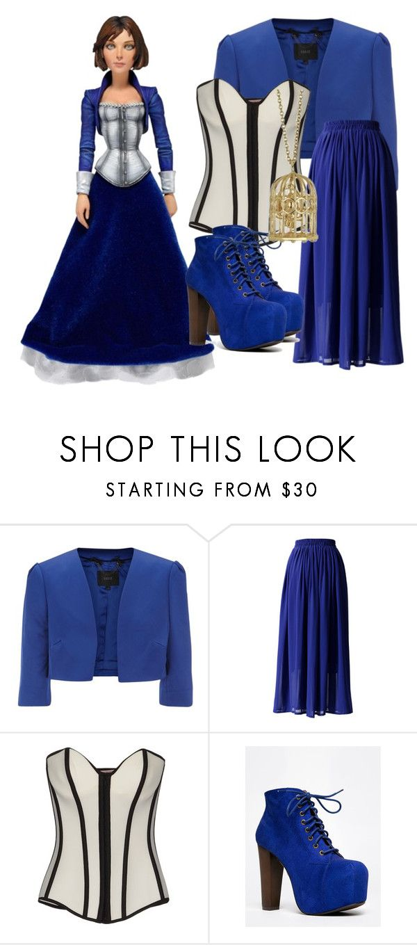"""""""Elizabeth: Bioshock"""" by princessmikyrah ❤ liked on Polyvore featuring Coast, Chicwish, Oh My Corset!, Speed Limit 98, bioshock and videogame"""