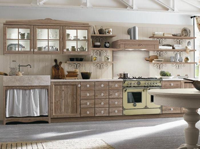 1001 Ideas De Cocinas Rusticas Calidas Y Con Encanto