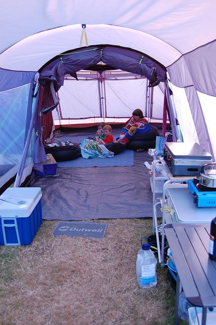 173 | Flickr - Photo Sharing! I'd like to have this camping set up fo sho!