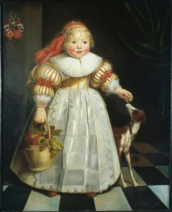 Harmen Willems Wieringa, Portrait of Ida Catharina van Paffenrode, 1634 - Leeuwarden Fries Museum