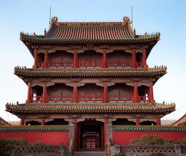 Original Imperial Palace. Shenyang, China
