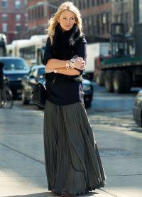 длинная зимняя юбка6
