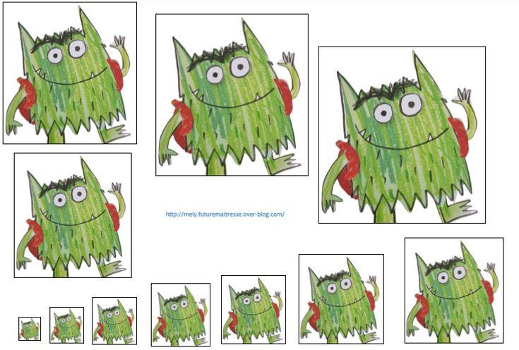 Le monstre des couleurs : Récapitulatif des ateliers proposés