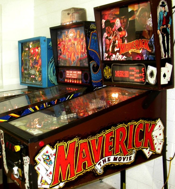 maverick the movie pinball machine | MAVERICK Pinball Machine for Sale