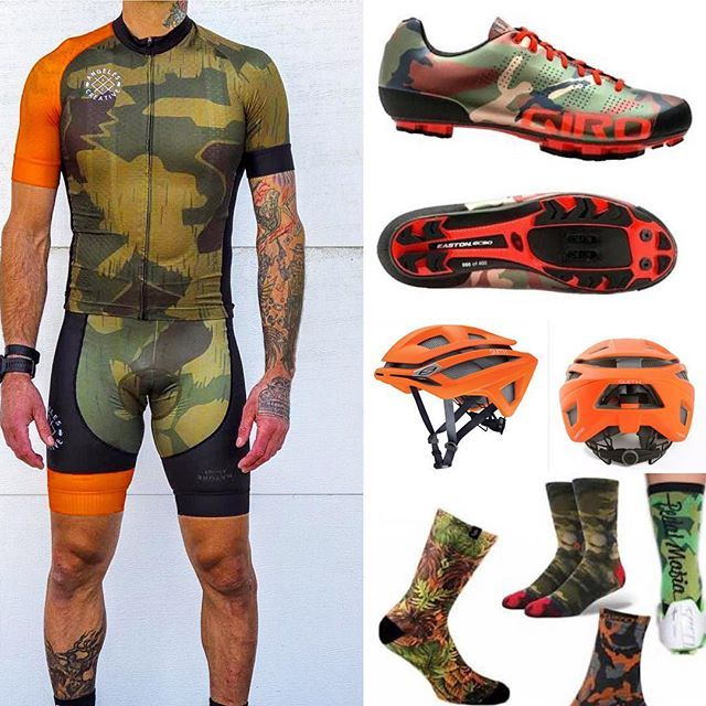 This #camo #kitfit is one for the #cyclocross or #mtb crews…