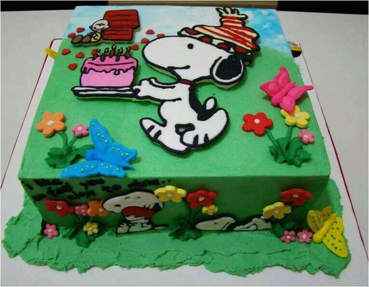 8 best birthday images on Pinterest Snoopy cake Birthday ideas