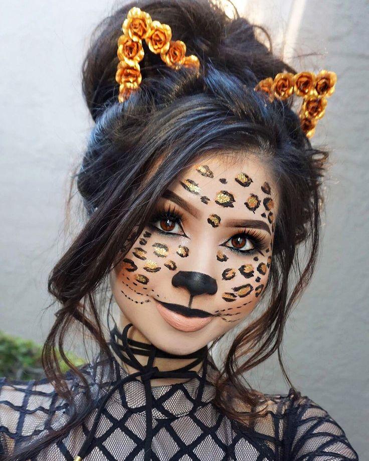 Best 25+ Cheetah costume ideas on Pinterest   Leopard face ...
