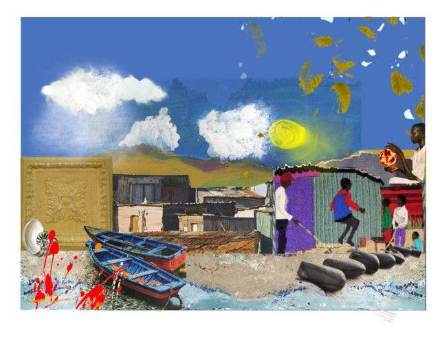 """ob-la-di, ob-la-da, life goes on"" by chilirose-creative ❤ liked on Polyvore featuring art"