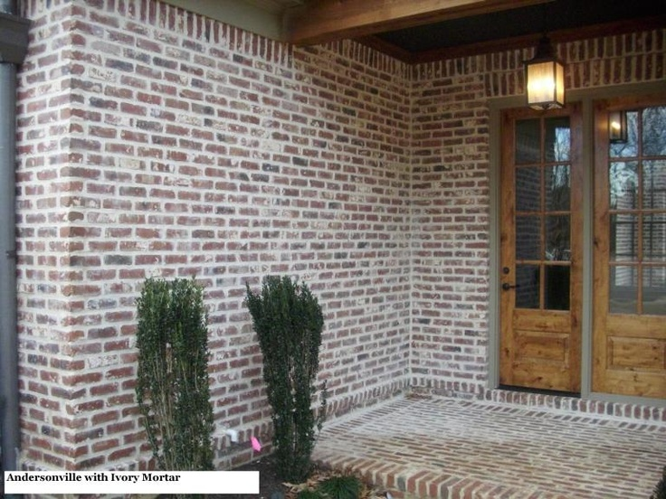 11 best brick colours images on pinterest brick colors for Brick and stone house facades