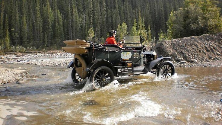 Der fährt seit über 100 Jahren: Weltreise mit dem Model T von Ford