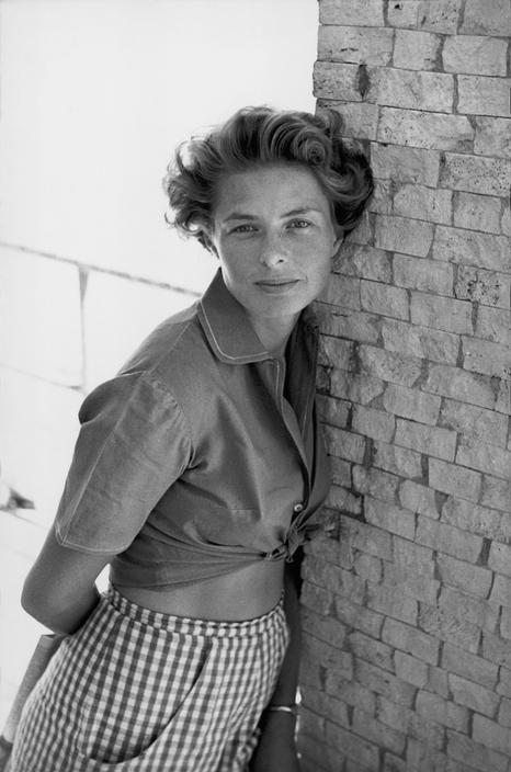 Ingrid Bergman photo David Seymour