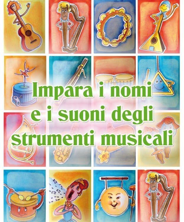Impara i nomi e i suoni degli strumenti musicali - Canzoni  per bambini ...