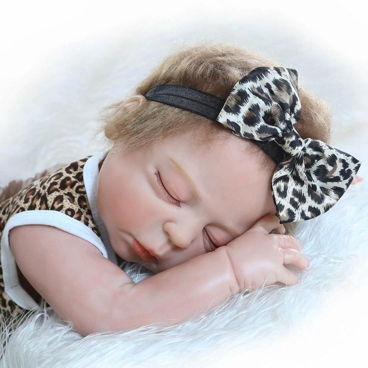 147.10$  Buy here - http://alih35.worldwells.pw/go.php?t=32740674217 - High Quality Close Eyes Newborn Babies For Kids Sleep Partners Realistic Silicone Reborn Baby Dolls Cheap Reborn Dolls Best Toys 147.10$