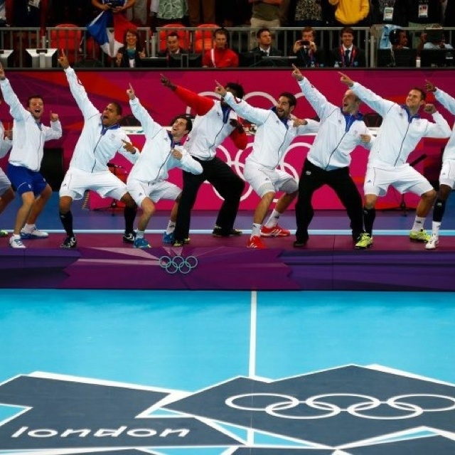 Bravo les Experts! Champions Olympiques de hand-ball 2012...