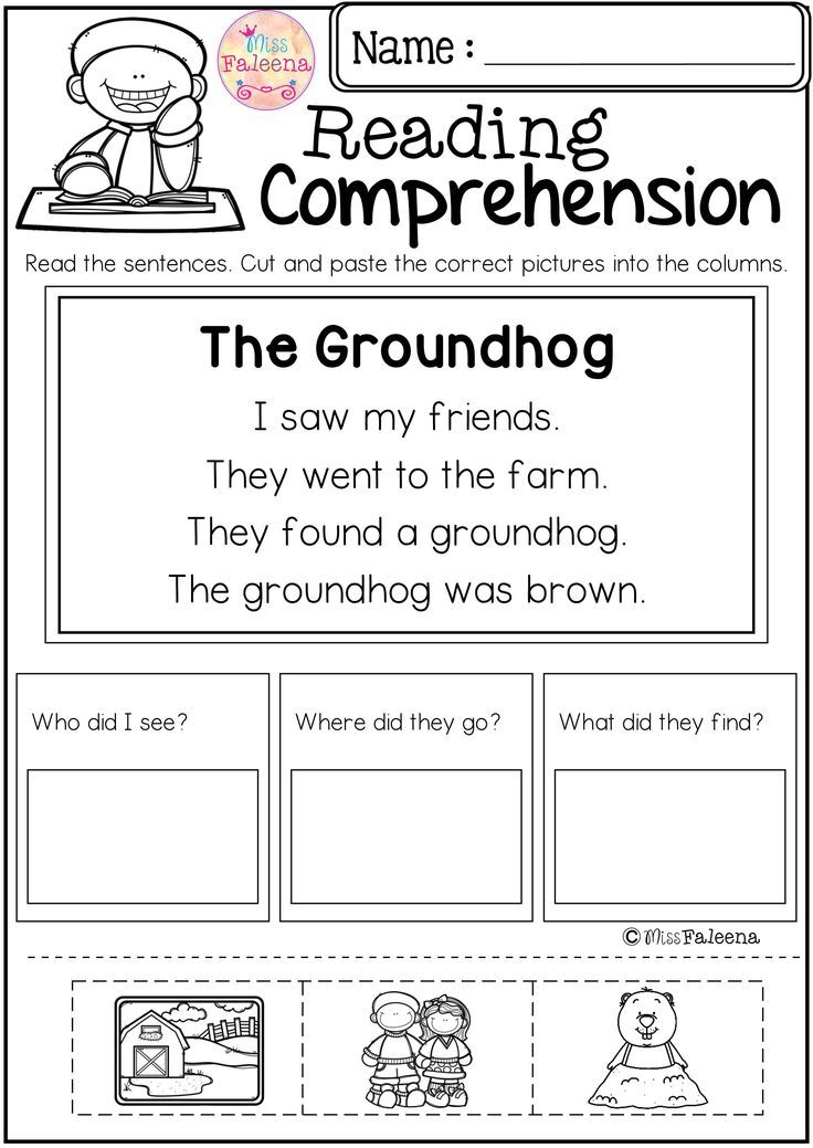 Reading Comprehension Cut and Paste February has 20 pages of reading comprehension with cut and paste. Children will answer the questions by cut and paste the correct picture into the question columns. This product is great for Kindergarten or first graders. Kindergarten | Kindergarten Worksheets | First Grade | First Grade Worksheets | Reading| Reading Comprehension | Reading Comprehension Cut and Paste February | Reading Comprehension Literacy Centers | Printables| Worksheets