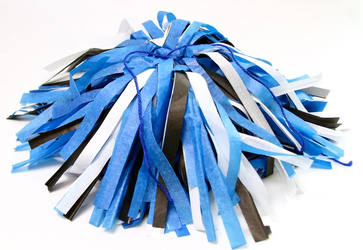 DIY Cheerleading Pom Poms