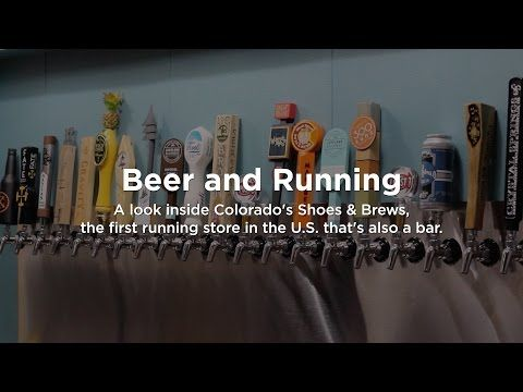 Beer & Running: A Running Store With 20 Beer Taps - In Longmont, CO Shoes & Brews