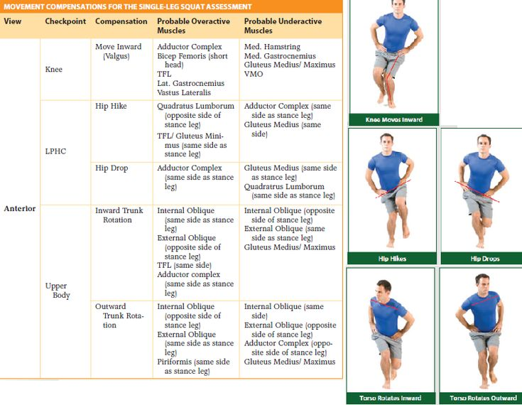17 best movement assessment images on Pinterest Fitness - trainer evaluation form