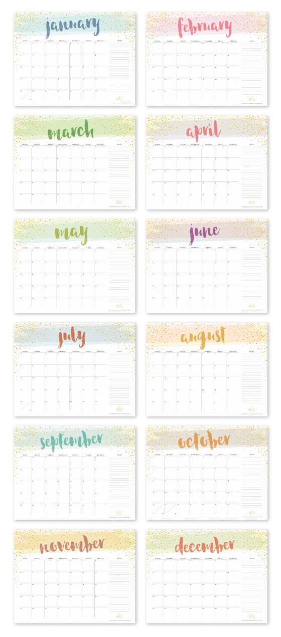 Free printable calendar for 2016!                              …