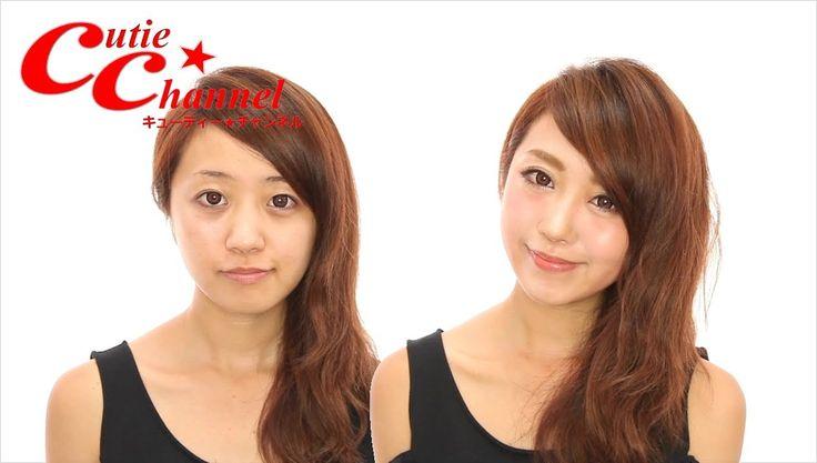 整形級デカ目メイク 中島絢乃 【English SUBS】makeup tutorial