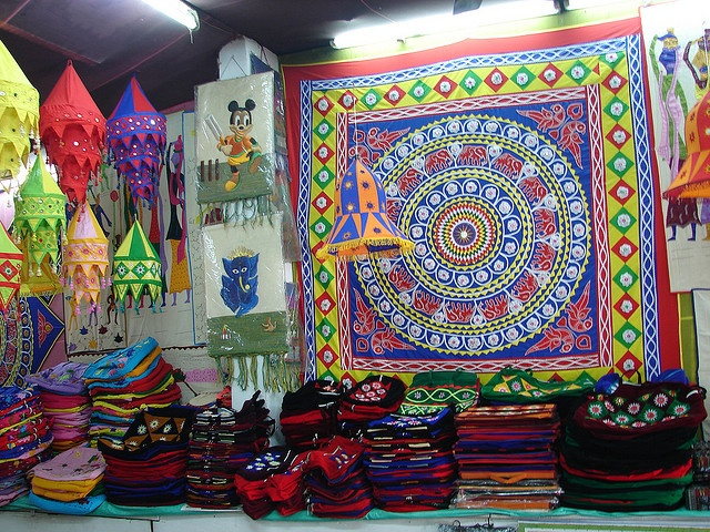 Applique work at Pipli Village