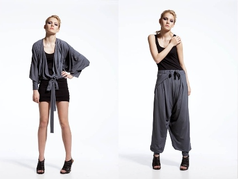 The Emami dress,  a multifunctional cloth that can be worn as a blouse, jump suit and limitless versions of dresses