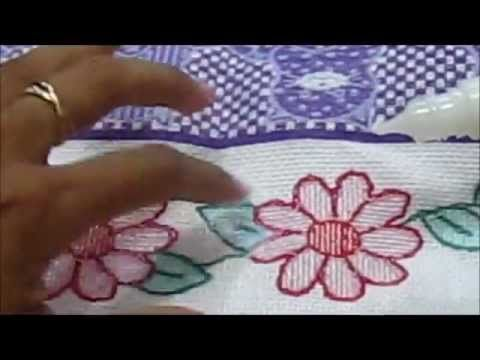 Russian punchneedle embroidery - part IV - finish