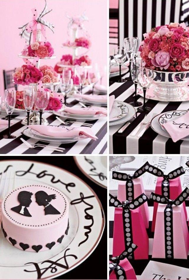 Cute silhouet cakes!