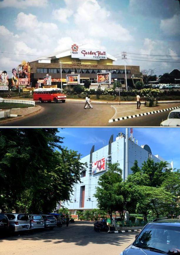 Blok M Plaza Kebayoran Baru Jakarta 1970 Foto Zaman Dulu Indonesia Retro