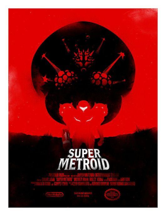 Super Metroid Retrospekt.com.au