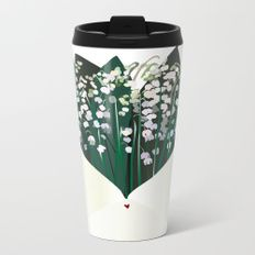 Send Lily to the Valley Metal Travel Mug