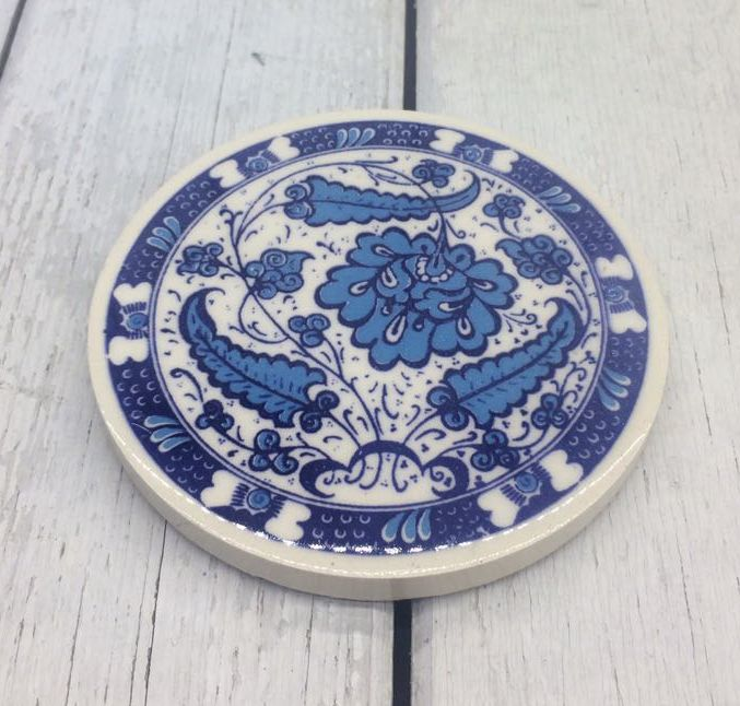 TURKISH CERAMIC COASTER, 0027