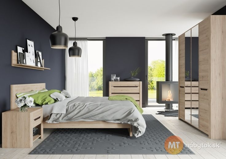 Spálňa Emanuela pre útulný interiér plný pohodlia