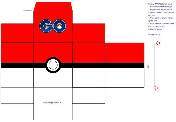 Maak zelf eenPokémon godoosje voor je traktatie! Trakteer een Pokémon godoosje op school en je hebt zeker succes.Pokémon gois op dit moment helemaal hot bij de jeugd. Kijk onderaan in het bericht en download het ontwerp naar je computer. Print het ontwerp en ga zelf aan de slag. De afmeting van het kleine doosje is …