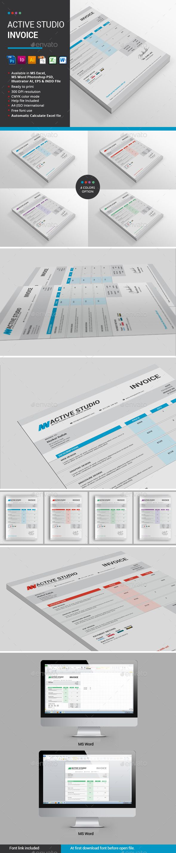 How To Create An Invoice On Excel 16 Best Excel Templates Images On Pinterest  Stationery Templates .