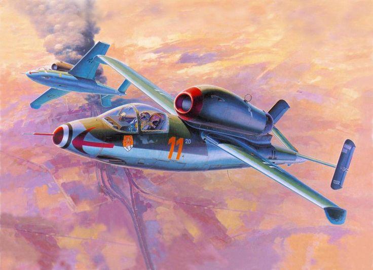 heinkel he 162 by jaoblack on DeviantArt