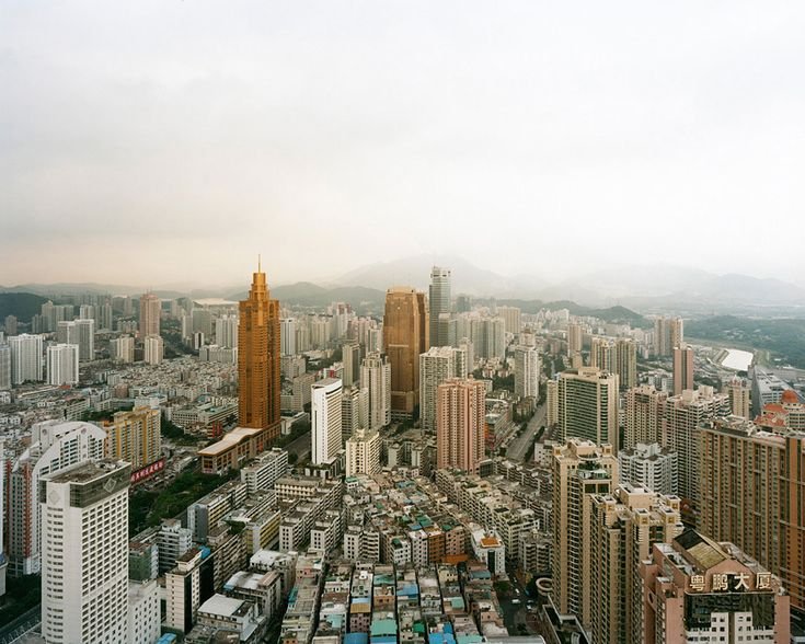 Sze Tsung Leong: Artists, Series Cities, Art Photography, Tsung Leong, Sze Tsung, Mmm Photography, Shenzhen 2008, Luohu District, China