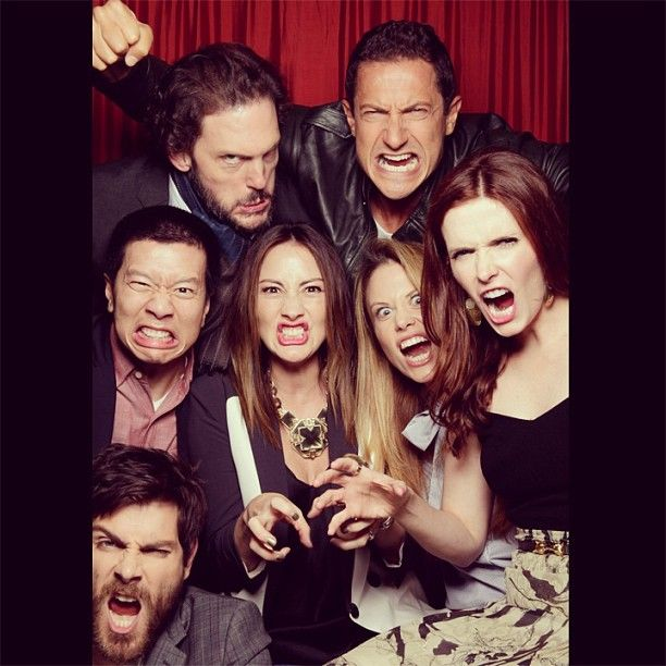 Cast Wolge :o) Yeap, I'm a Grimm fan. Monore and Rosalie are my fave.