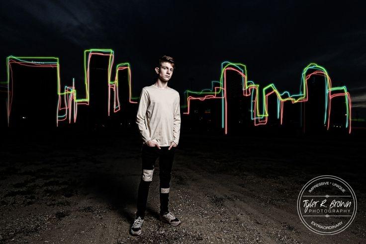 Senior Pictures - Tristan Bowman - Senior Photography - Class of 2016 - Deep Ellum - Artsy - Urban - Spring - Senior Guy - Dallas, Texas - DFW - Dallas Photography - The Colony High School - Dallas Skyline - Neon Lights - Ideas for Guys - Photography - Senior Pics - Senior Photos - Tyler R. Brown Photography