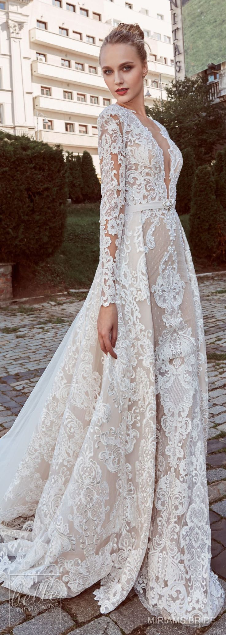 Wedding dresses from Miriam's Bride collection 2018