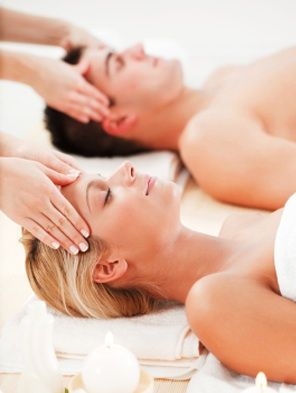 Get the spa experience at home by indulging in a couples massage. Some therapists will come out to you. Or why not take turns with your partner to massage each other?