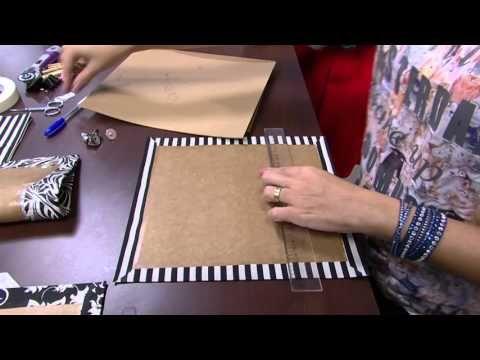 Mulher.com - 01/10/2015 - Bolsa em cartonagem - Viviane Carvalho PT1 - YouTube