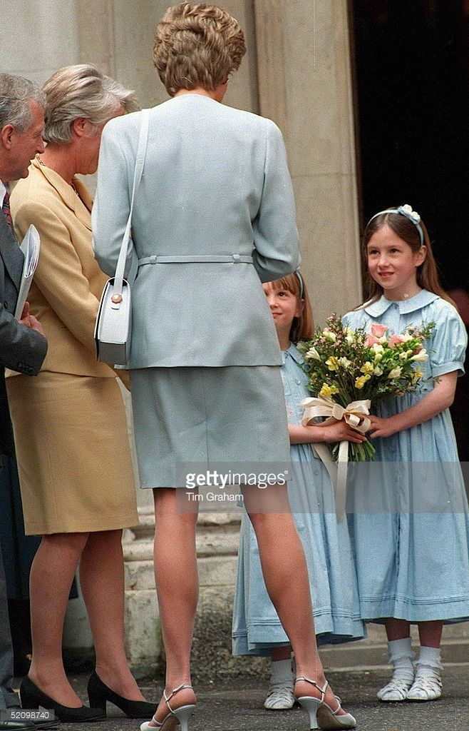 Diana Attending A Lunch For The Pied Piper Appeal At The Royal Overseas League , London.