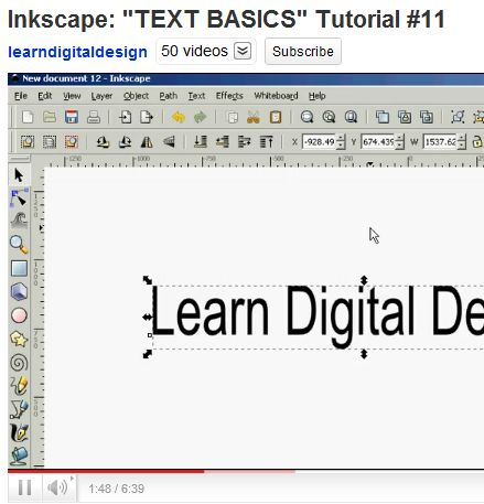 how to use inkscape tutorial