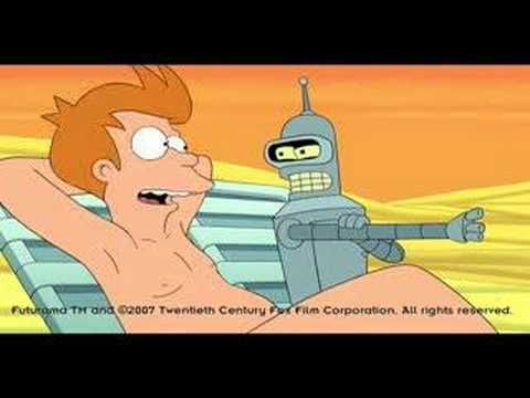 1-31-2014: Bender's Big Score (2007)  The first of four feature length Futurama Movies.  This one Chronicles everyone on planet earth getting scammed by naked aliens and bender getting a virus that makes him obey them.  Oh did i mention they find a space portal code on Fry's Butt?