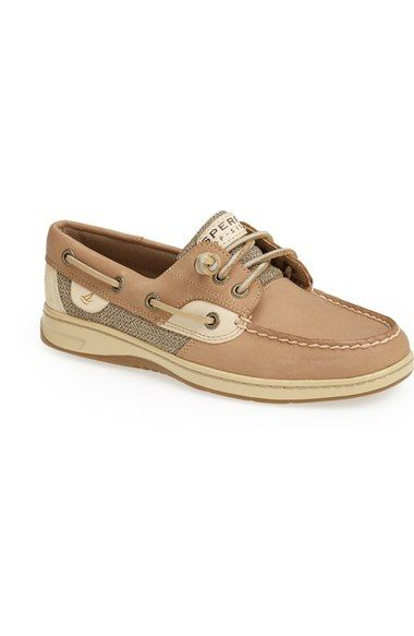 Free shipping and returns on Sperry 'Ivyfish' Boat Shoe (Women) at Nordstrom.com. Classic nautical lines define a mixed-media boat shoe featuring smart, tonal color blocking and a signature wave-siped sole for enhanced wet/dry traction.