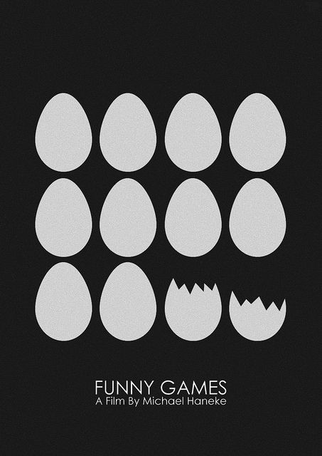 Funny Games Minimalistic Poster